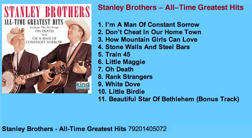 Stanleys-gretest hits