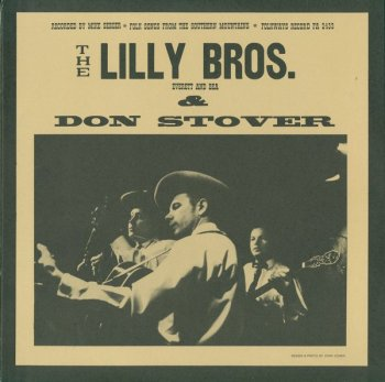 Lilly Bros-Folkways cover